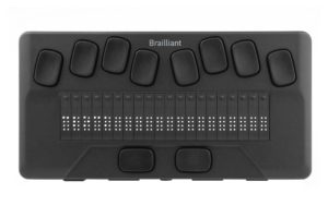 Image of the 20-cell Brailliant BI 20X smart Braille display